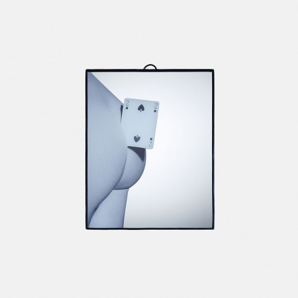 TOILETPAPER系列   TWO OF SPADES  镜子 17.5×23cm