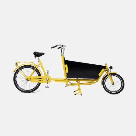 黄色两轮袋鼠车
