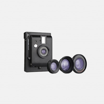 LOMO 拍立得相机 三镜版 黑色