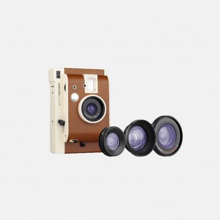 LOMO 拍立得相机 三镜版 Sanremo真皮特别版