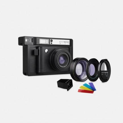 LOMO 宽幅拍立得相机 三镜版 黑色