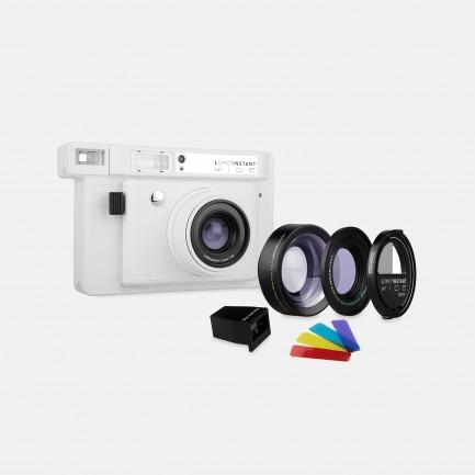 LOMO 宽幅拍立得相机 三镜版 白色