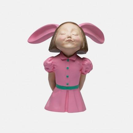 我看到了幸福-梦幻粉 | 艺术家向京雕塑作品
