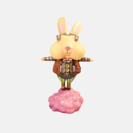 气球兔( Bubble Bunny)艺术雕塑