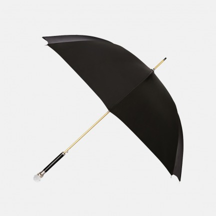 雕刻金属组合水晶球手柄雨伞(女款)