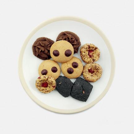 无面粉无蔗糖饼干 各色健康饼干组合装