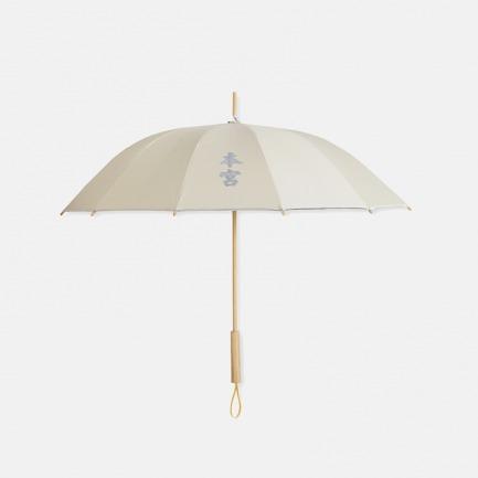 本宫 女款 长柄 竹语伞