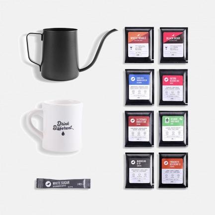 【杭州地区不发货】三顿半|挂耳咖啡+手冲壶+咖啡杯大满贯套装