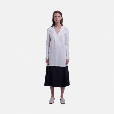 黑色丝毛半裙