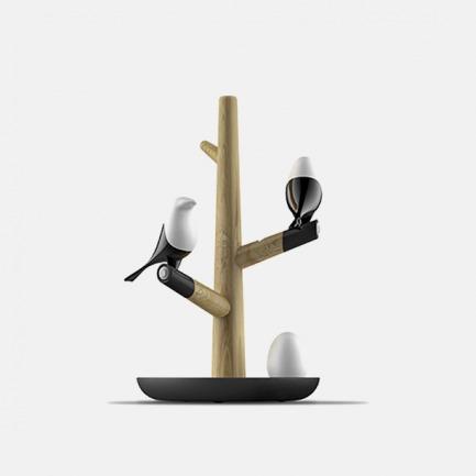 喜上梢创意栖鸟感应灯