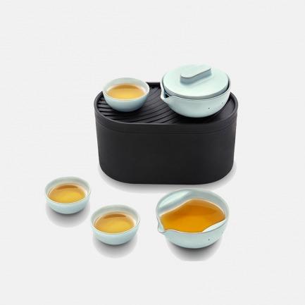 T1便携旅行功夫茶具-卢瓦尔河版 | 荣获德国红点奖 中国好设计金奖