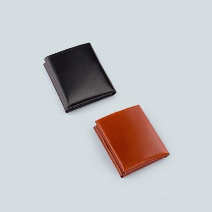 意大利牛皮手作钱包 | 由一整张牛皮折叠而成