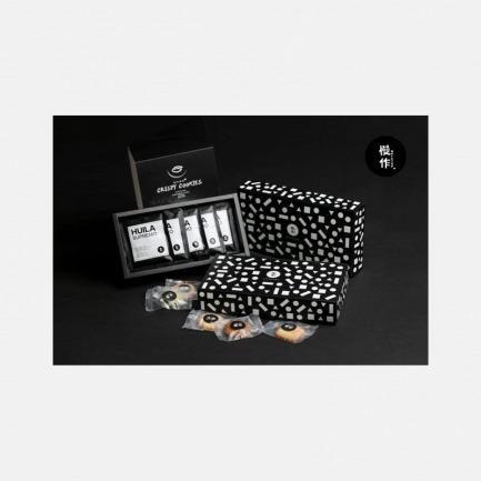 慢作曲奇礼盒(一盒曲奇+五包挂耳咖啡)
