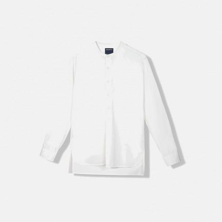 立领长袖衬衫(两色)