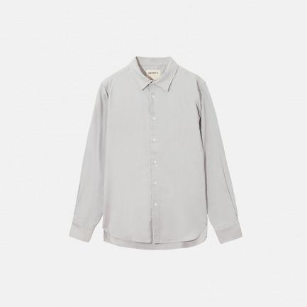 內絨毛長袖衬衫(两色)
