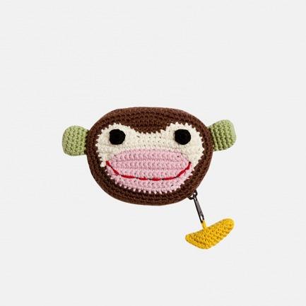 丹麦儿童设计 Hugo purse  钩针动物零钱包 | 【两款可选】