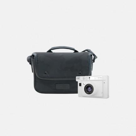LOMOGRAPHY LOMO'宽画幅拍立得白色单镜头版 + Carry Deluxe豪华随即带相机包 大号多功能相机收纳包