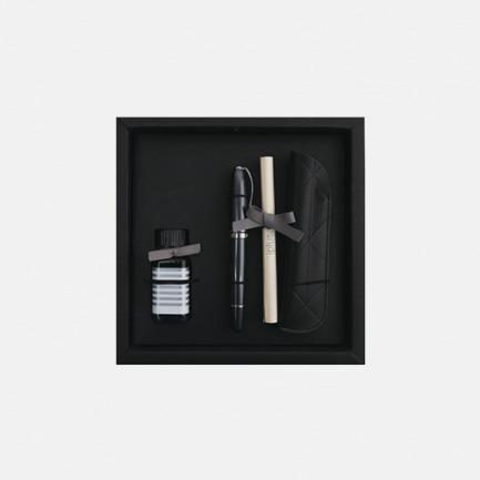 安迪系列钢笔笔套墨水礼盒 珍珠灰