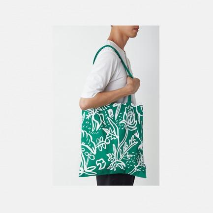 Triple-Major 本草印花绿色购物袋