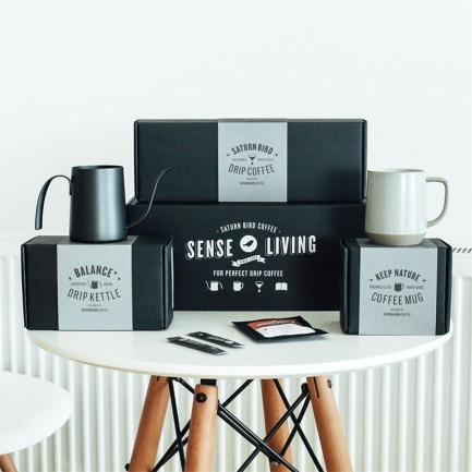 挂耳咖啡大满贯【两款可选】 | 手冲壶+复古咖啡杯+精品挂耳咖啡