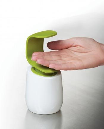厨房神器 手背按压洗手液瓶 大油手不再弄脏洗手液开关(两色可选)