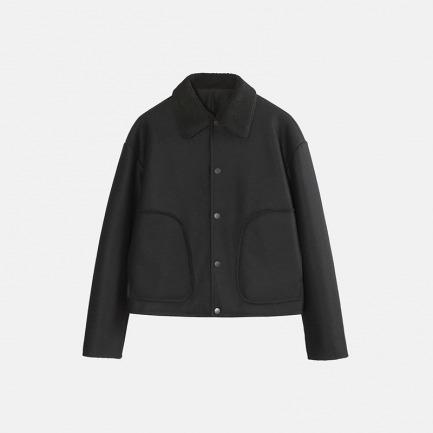 独立设计师品牌 羊羔绒夹克