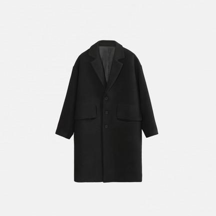 独立设计师品牌 西装溜肩大衣