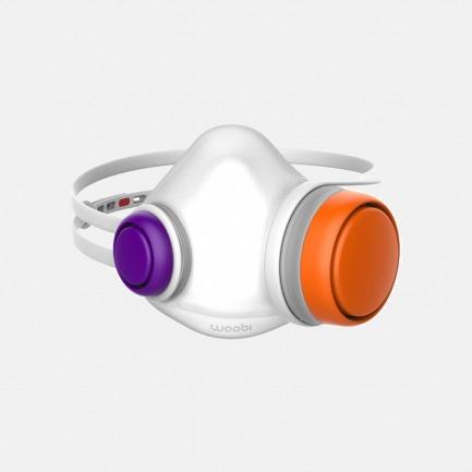 Woobi儿童专用防霾口罩 | 微型HEPA高效过滤芯 5层360度深度净化 连续使用12小时