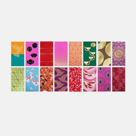 香港限量设计款 喜飞礼盒(十六款图案各2张)