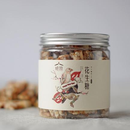 传统手工工艺 古法花生糖【两盒装】