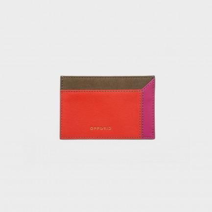 OFF-BOX 三层卡包(橙红)