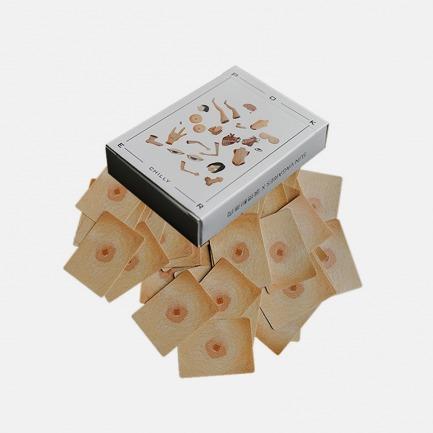 《身体结构》创意扑克牌 | 原创设计SUN VAGARIES x 滚烫联名款