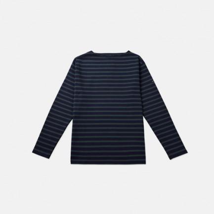 一字领全棉针织衫男女同款【多款可选 货号:2501-XX 】