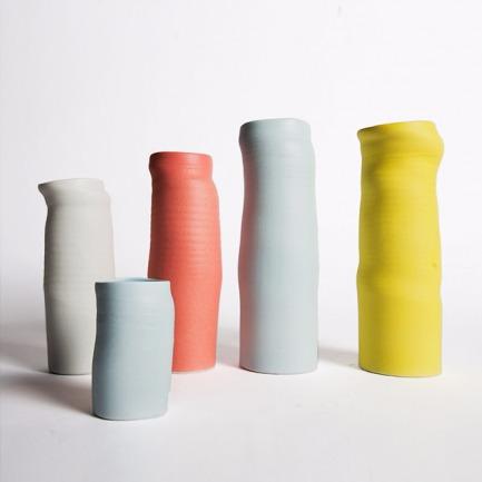 SPRINKLE VASE高筒细腻花瓶(多色可选)