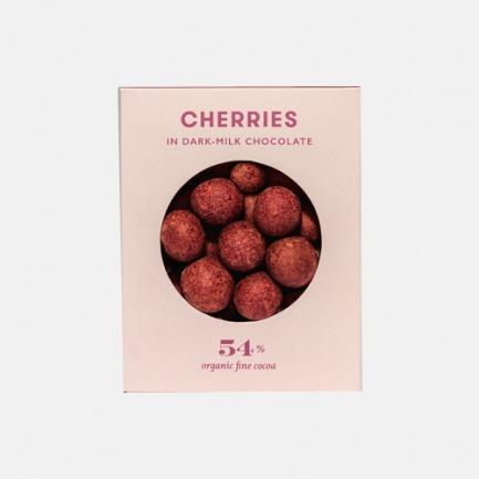 引爆万千滋味的纯品巧克力 樱桃之心有机樱桃牛奶巧克力 (70克)