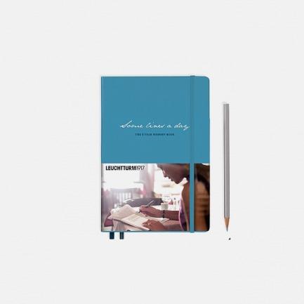 德国灯塔中开横格笔记本 五年时光硬皮笔记本(多色可选)
