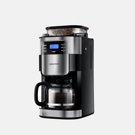 摩飞全自动咖啡机MR1025 创新专利直落粉结构 智能控制水量