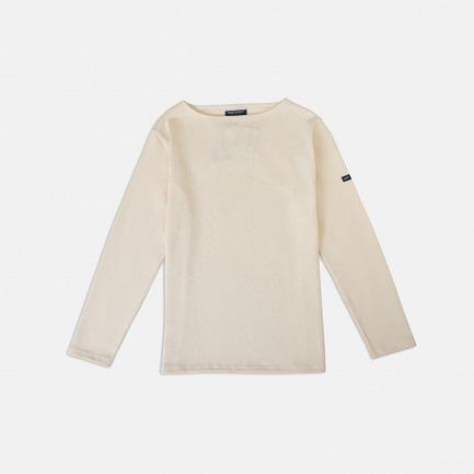 一字领全棉针织衫男女同款【多款可选 货号:2503-XX 】