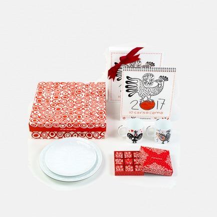 艺术家Kris Ruhs合作款 ROOSTER 公鸡主题 限定礼盒A
