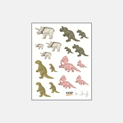 《通灵自画像》徽章四件套 艺术家王浩然(Adrian Wong)合作款 唤起童年记忆《通灵自画像》贴纸