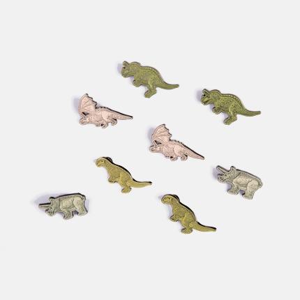 《通灵自画像》徽章四件套 艺术家王浩然(Adrian Wong)合作款 唤起童年记忆