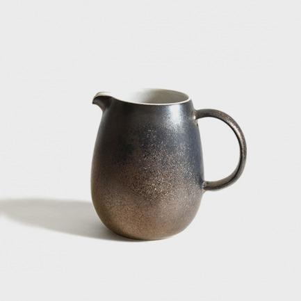 复古铁锈釉陶瓷咖啡分享壶