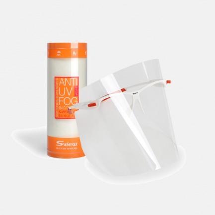 面部防晒镜 | 抗紫外线 抗菌 防雾丽器【透明色】