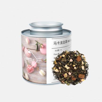 粉色甜心 马卡龙白茶