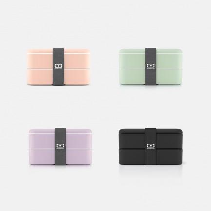 法国原创双层分格便当盒 | 小巧轻便易携带【多色可选】