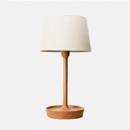 德国进口榉木 复古实用盘子台灯 Tray