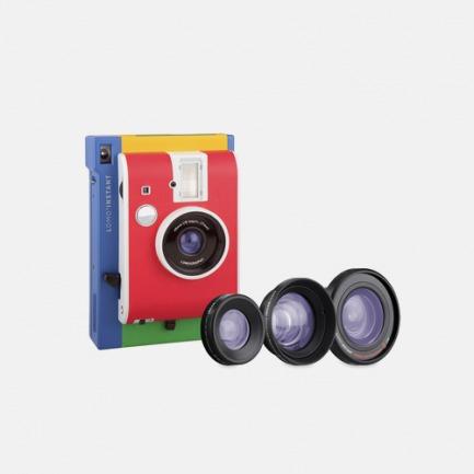限量配色魔方拍立得相机 | murano意大利风情款 三镜头套装
