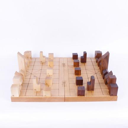 创意设计 精致雕刻中国象棋