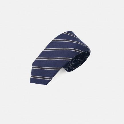 藏青条纹学院风领带 | 经典百搭绅士必备【蓝色】