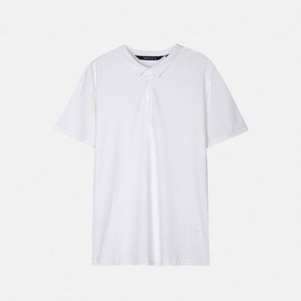 肌理短袖POLO |  轻巧透气 设计简约【两色可选】